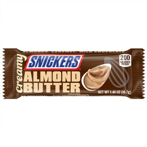 Snicker Creamy Almond Butter Squares 39g	(US)